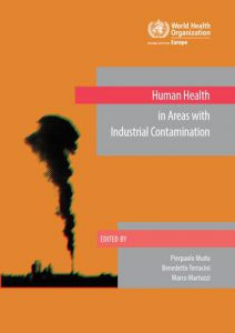 Human health in areas with industrial contamination